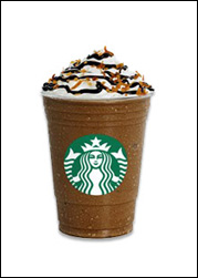 Starbucks' Mocha Coconut Frappuccino Blended Beverage