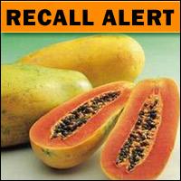 Papaya Recall! Check Your Fruit Bowl!