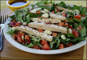 HG's Better Bruschetta Chicken Salad