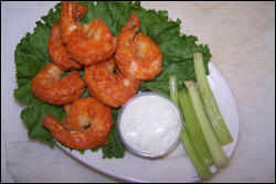 Buffalo Shrimp, Average