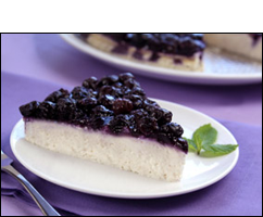 HG's Blueberry Bliss Cheesecake