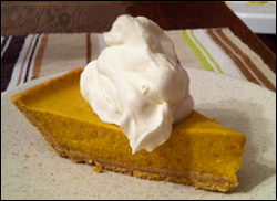 Pumpkin Pie, Average