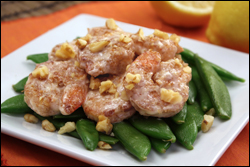 HG's Oh Honey! Walnut Shrimp