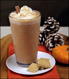 HG's Pumpkin Pie Smoothie