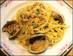 Linguine with White Clam Sauce, Average