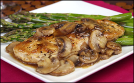 HG's Hungry-licious Chicken Marsala for Two