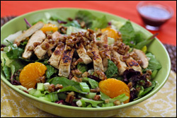 HG's Nutty-Good Salad with Chicken