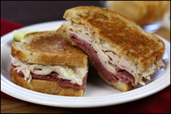 HG's Double-Delicious Reuben Sandwich