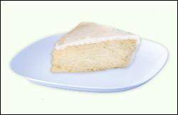 Frosted Vanilla Cake, Average