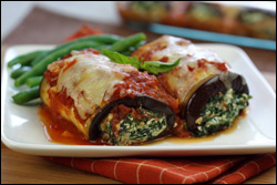 HG's Not-So-Teeny Eggplant Rollatini