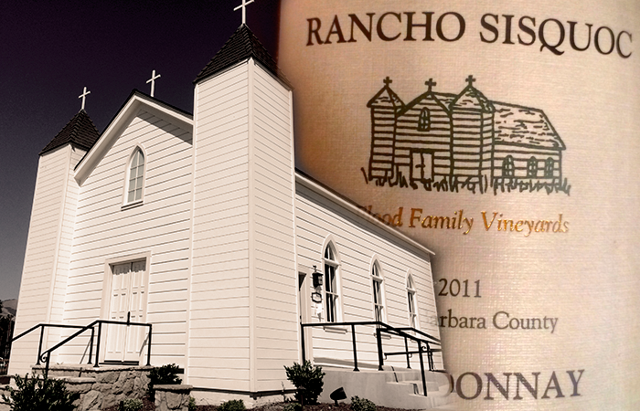 The San Ramon Chapel is on every Rancho bottle.