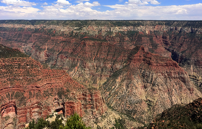 North Rim of the Grand Canyon.