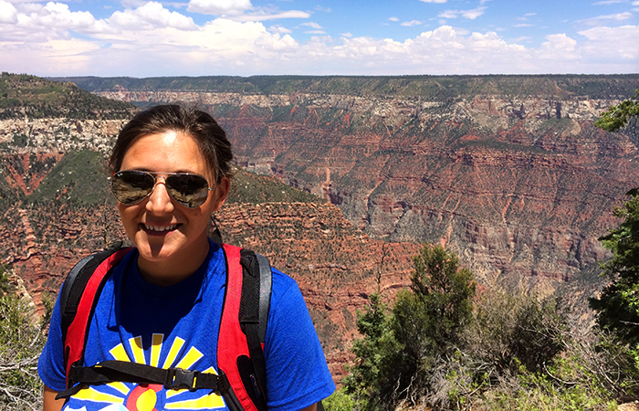 HUNTERRA Chief of Production, dominating the Grand Canyon.