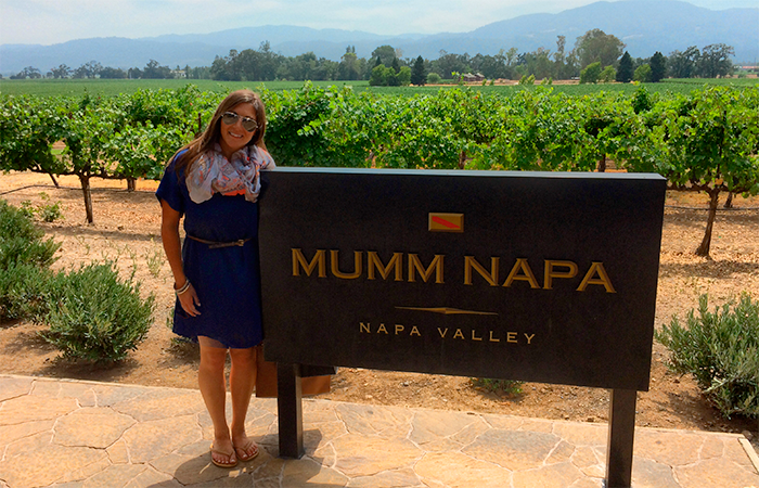 Mumm Napa specializes in sparkling wines.