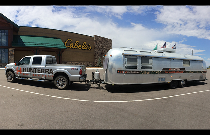 Sixty Feet of Silver + Cabelas. A winning combination.