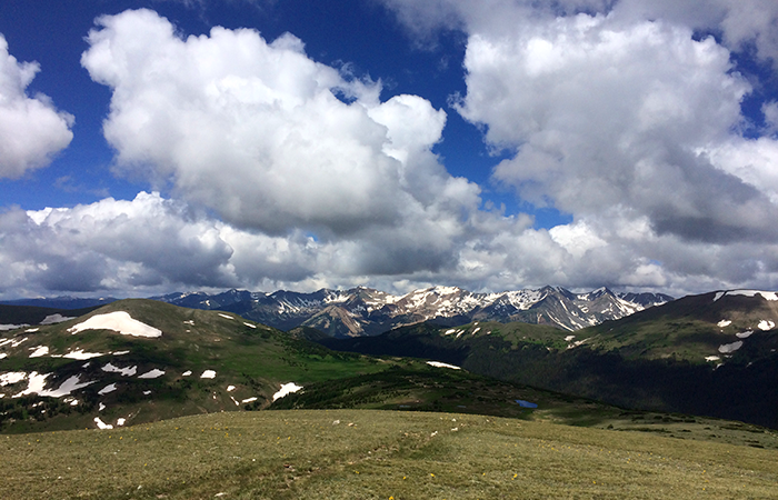 Trail Ridge Road takes you to 11,500 feet, the highest continuous paved road in the US.
