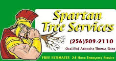 Website for Spartan Tree Service, LLC