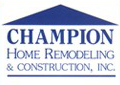 Website for Champion Home Remodeling & Construction, Inc.