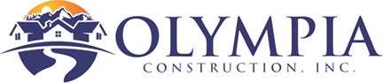 Website for Olympia Construction, Inc.