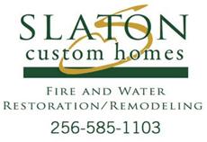 Website for Slaton Custom Homes, Inc.
