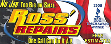 Website for Ross' Repairs