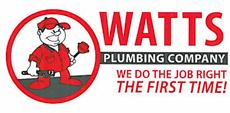 Website for Watts Plumbing Company