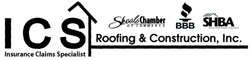 Website for ICS Roofing & Construction, Inc.