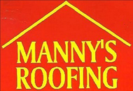 Website for Manny's Roofing