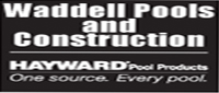 Website for Waddell Pools & Construction