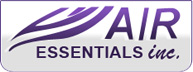 Website for Air Essentials, Inc.