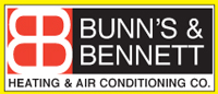 Website for Bunn's & Bennett Heating & Air Conditioning Company