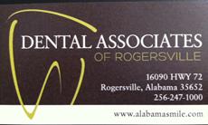 Website for Dental Associates of Rogersville LLC