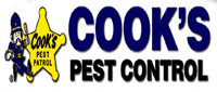 Website for Cook's Pest Control, Inc.