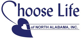 Website for Choose Life of North Alabama, Inc.