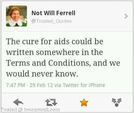 The cure for aids!