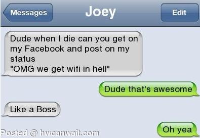 Wifi in hell