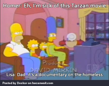My all time favorite Simpsons quote