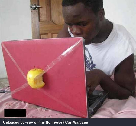 Got a new apple computer