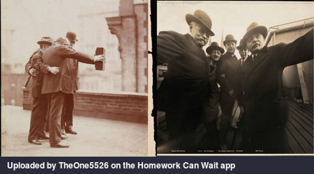 The first selfie.