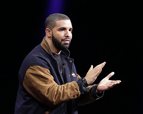 Drake At Apple Music Lunch