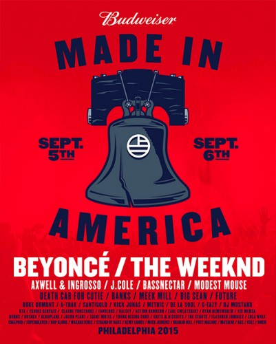Stream Made In America Live f. Beyoncé, The Weeknd, J. Cole & More