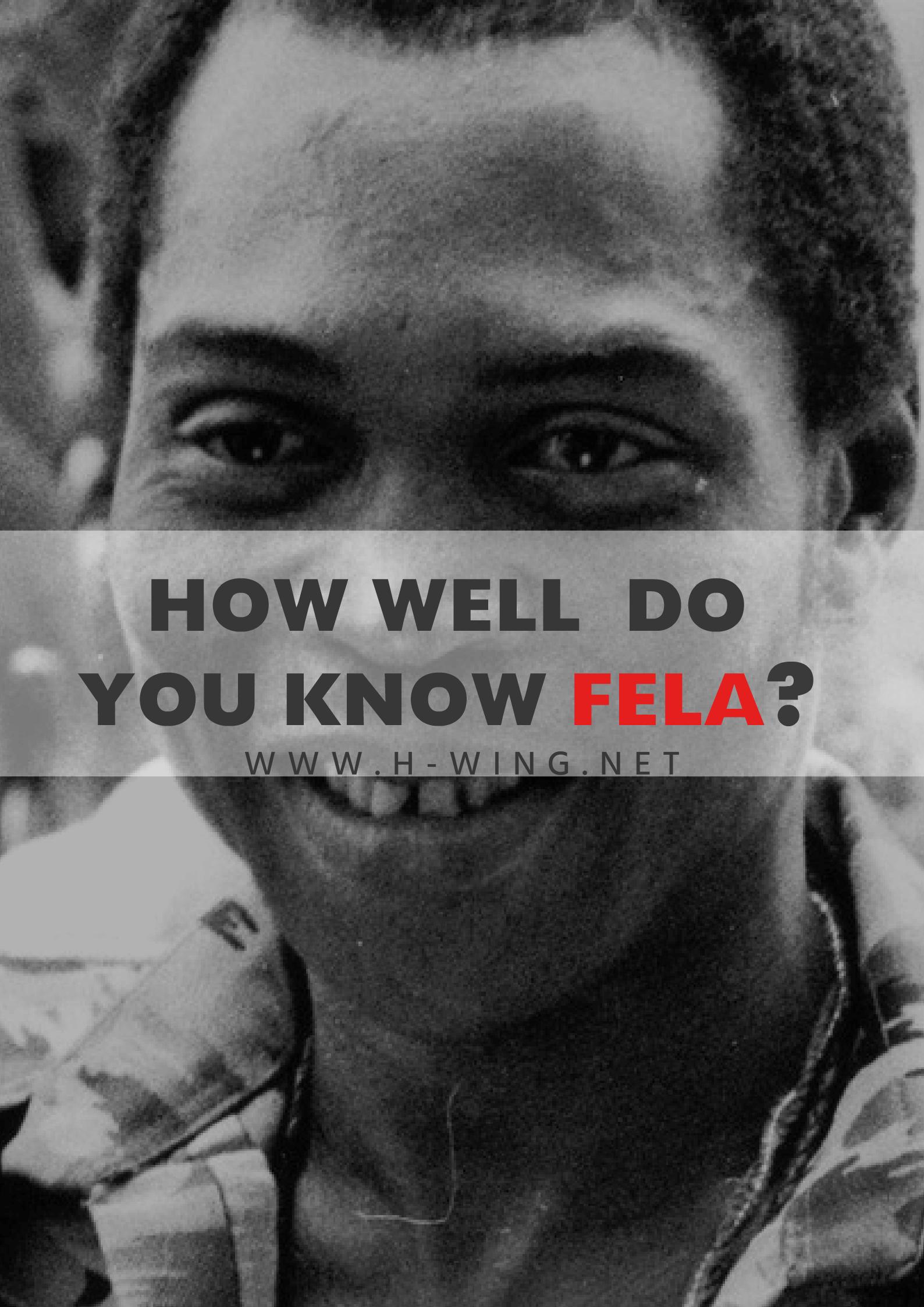 Fela Kuti Quiz