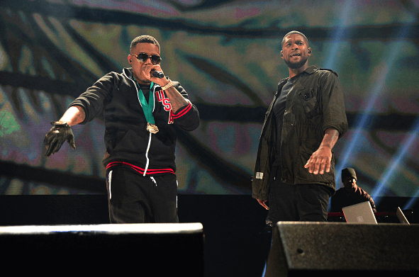 "Usher, Nas & Bibi Bourelly Perform ""Chains"" on 'Jimmy Kimmel Live!'"