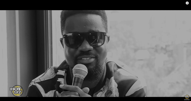 VIDEO: Breaking Boarders: Sarkodie. interview at HOT 97 Studios!