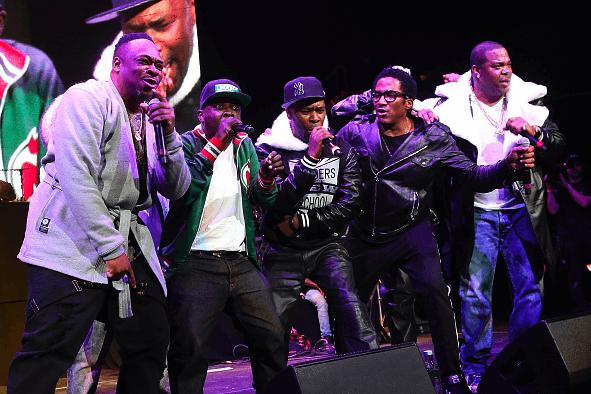 Busta Rhymes Brings Out ATCQ, Mariah Carey, Lil' Wayne, Rick Ross at 'Hot 4 the Holidays' Concert
