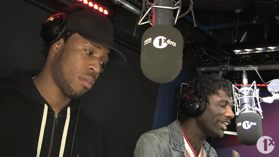 """Wretch 32 & Avelino """"Fire In the Booth"""" Freestyle"""