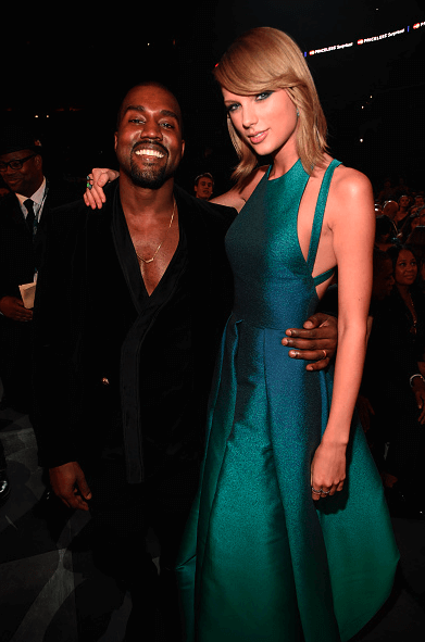 Taylor Swift Fires Back at Kanye West at the Grammy Awards