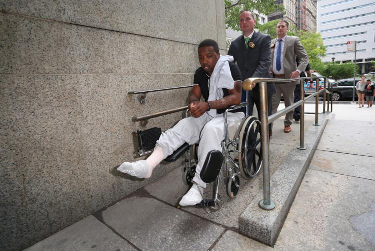 Troy Ave Released From Hospital; Held Without Bail