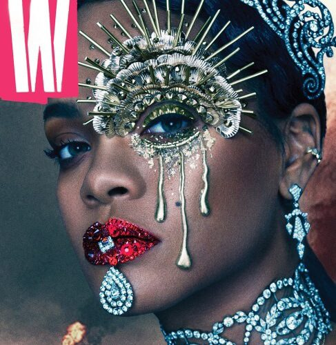Rihanna Covers W Magazine
