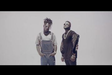 "Burna Boy joins Skales for ""Temper (Remix)"" video."